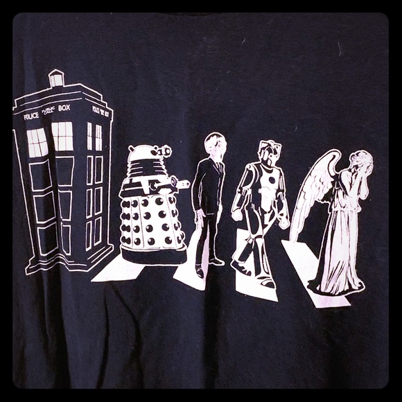 Other - Doctor Who/Abbey Road T-shirt XXL
